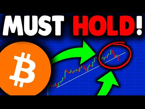 BITCOIN MUST HOLD THIS LEVEL (or else).... BITCOIN NEWS TODAY & BITCOIN PRICE PREDICTION...