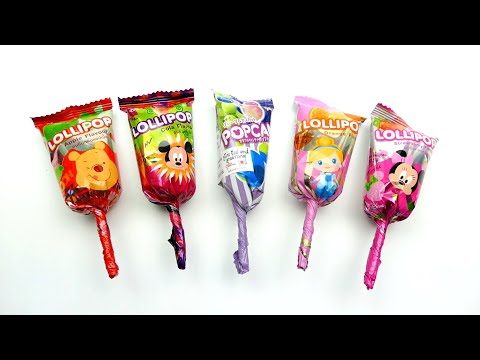 Candy Lollipop from Popcan - Apple Cola and Orange Flavour