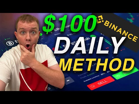 $100 A Day Trading On Binance Tutorial - Cryptocurrency Trading For Beginners Methods 2021