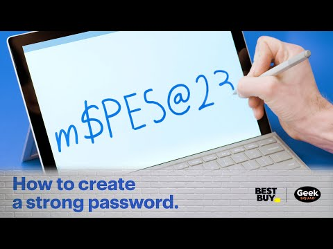 Tech Tips: How to create a strong password.