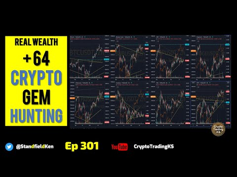 E301  Daily 64 Crypto gem hunting! Looking for ALTS that could party!  KSRealWealth +++