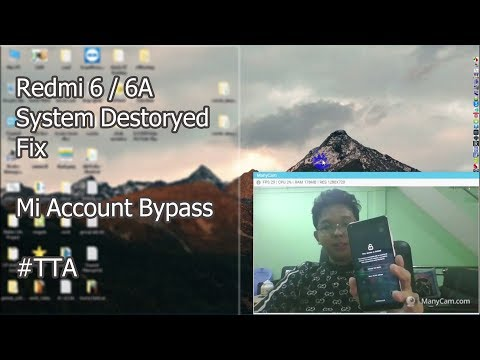 Redmi 6 6A system destoryed error and Mi Account Bypass Flash with SP Flash