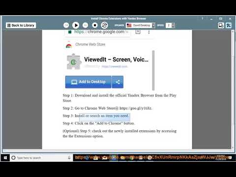 Install Google Chrome Extensions on Android Using Yandex Browser
