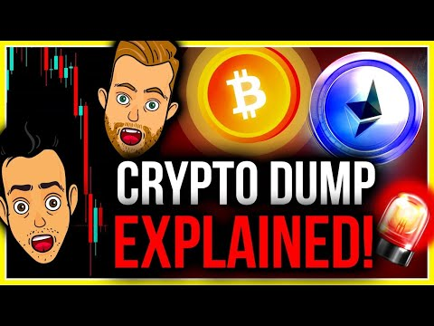 WHAT IS CAUSING THE MOST BRUTAL BITCOIN DUMP IN 4 MONTHS?