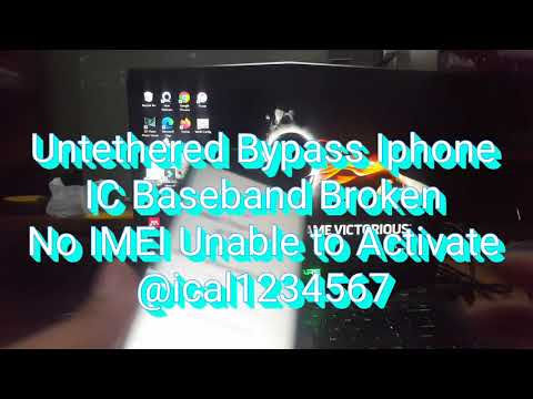 [Untethered] Bypass Iphone IOS 14/14.1/14.2 IC Baseband Failure, Damage, Unable Activated, No...