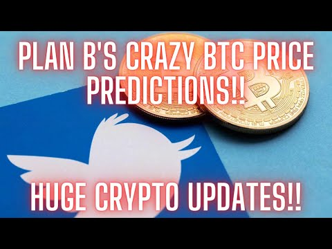 """INSANE Bitcoin Price Predictions from """"Plan B"""" and Huge News for ADA and ETH!!"""