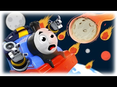 Train Thomas to the Rescue - Meteor Falling Episode 2