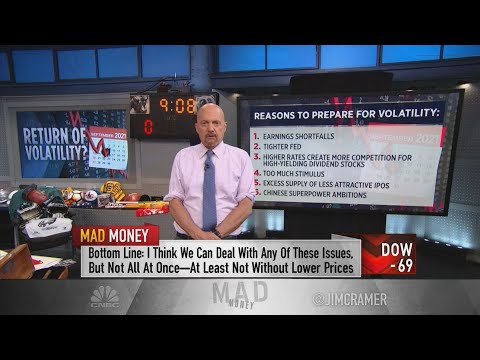 Here's why Jim Cramer is worried about the stock market in September