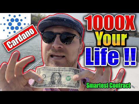 CARDANO SMART CONTRACT FUTURE! 1000X YOURE LIFE ADA $2 $4 $8 $10 Bitcoin ethereum polkadot will...