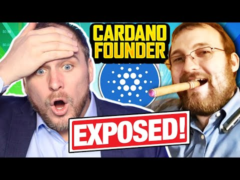 CARDANO FOUNDER EXPOSED!!! IS HE AN ALIEN LIFE-FORM??? 100X CHARLES HOSKINSON, CAN WE TRUST...