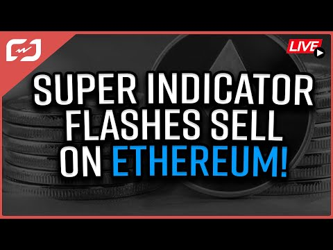 """SUPER-INDICATOR Flashes """"SELL"""" On Ethereum & Bitcoin Could Be Next! Coffee N Crypto LIVE"""
