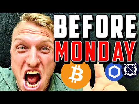 URGENT: WATCH THIS BITCOIN & CRYPTO VIDEO BEFORE MONDAY!!!!!!!!!