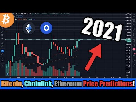 The Most Insane Cryptocurrency Price Predictions for 2021! Bitcoin, Ethereum, Chainlink...