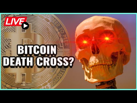 Daily Trade Set-Up: New DEATH CROSS On Bitcoin Price! + TA on Your Coins! Coffee N Crypto Live