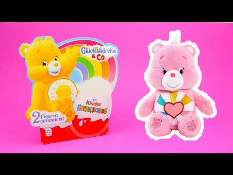 Care Bears Surprise Eggs opening - Toys and Chocolate