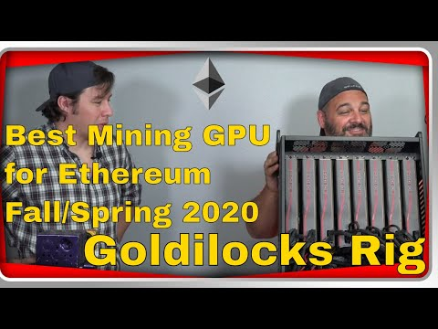 Best Ethereum Mining GPU Right now Summer/Fall 2020