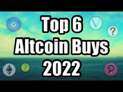 Top 6 Altcoins Set to Explode in 2022 | Best Cryptocurrency Investments (RIGHT NOW)