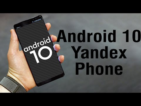 Install Android 10 on Yandex Phone (AOSP GSI Treble ROM) - How to Guide!