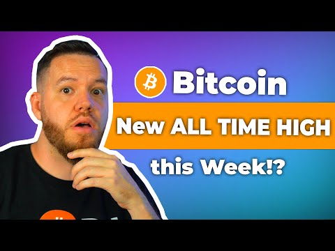 Bitcoin New All Time High This Week!? [Bitcoin Analysis]