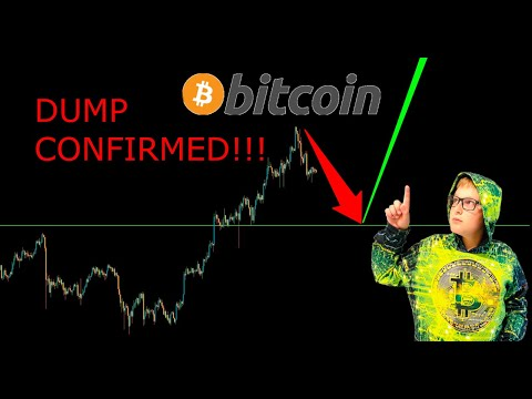 BITCOIN DUMP CONFIRMED?! HERE IS WHY...