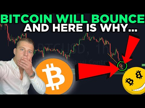 IMPORTANT: BITCOIN WILL BOUNCE! AND THIS IS WHY...