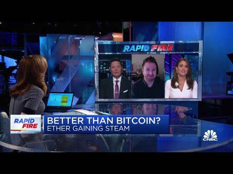 Shifting gears, is Ether better than bitcoin, and pulling the plug