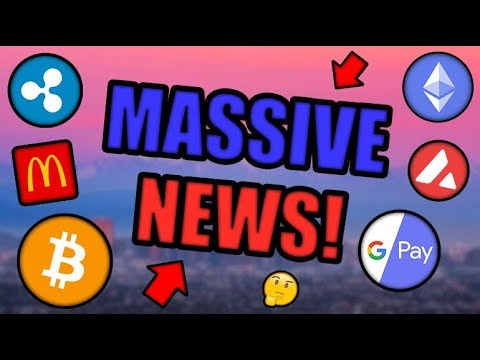 PARABOLIC MOVE COMING! GOOGLE BUYS INTO CRYPTOCURRENCY! MCDONALD'S NFT LAUNCH! [BTC, ETH, XRP...