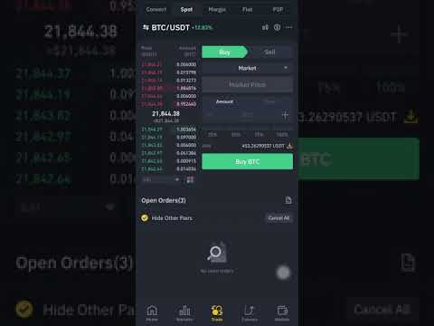 [STEP-BY-STEP GUIDE] VIDEO SHOWING HOW to TETHER or CONVERT YOUR FUNDS TO USDT ON BINANCE
