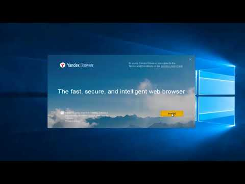 How To Download And Install Yandex Web Browser