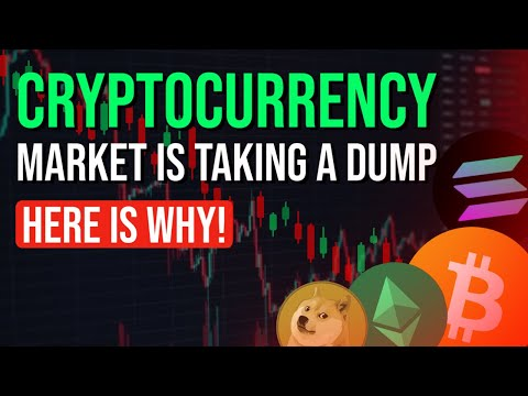 CRYPTOCURRENCY MARKET IS TAKING A DUMP (HERE IS WHY)
