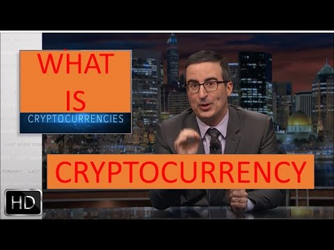 John Oliver - What is Cryptocurrency in short