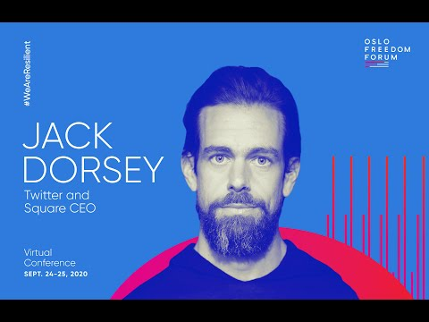 Jack Dorsey Discusses Disinformation, Bitcoin, and the Open Internet. | 2020 Oslo Freedom Forum