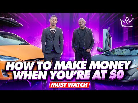 Two Millionaires Talk About How to Make Money When You're At $0.... TJ Millionaire Mentor...