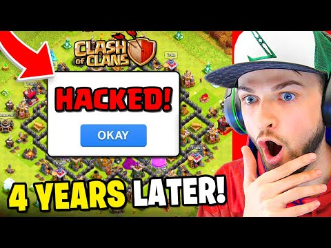 Returning to my *HACKED* Clash of Clans account! (4 YEARS LATER)