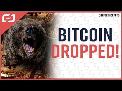 BITCOIN DROPPED! Should You Be SCARED Of Bitcoin?? NO! Coffee N Crypto LIVE