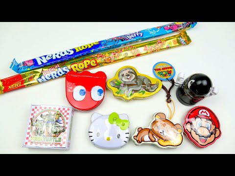 A Lot Of Candy | Super Mario Hello Kitty and Turtle Sweety
