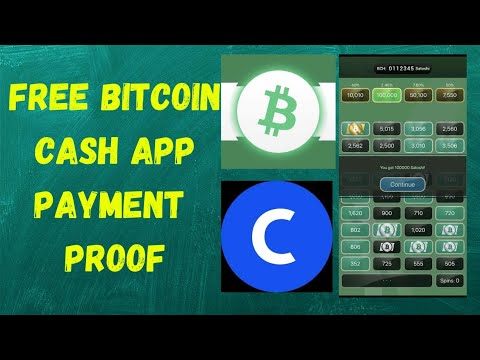 Free Bitcoin Cash App || Review + Payment Proof