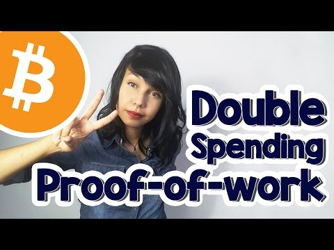 Bitcoin, double spending e proof of work.