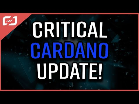 CRITICAL CARDANO UPDATE! Cardano Price Prediction Changes With This Fundamental!