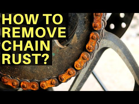 BEST WAYS TO REMOVE CHAIN RUST, SOLUTIONS TO MOTORCYCLE CHAIN NOISE MONSOON BIKE MAINTENANCE