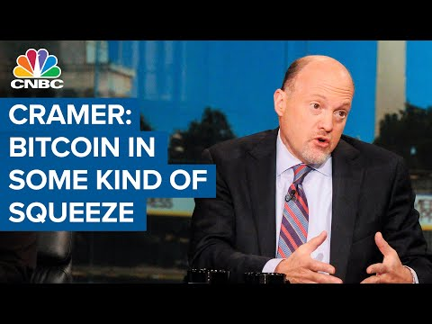 Jim Cramer: It looks like bitcoin is in some kind of a squeeze