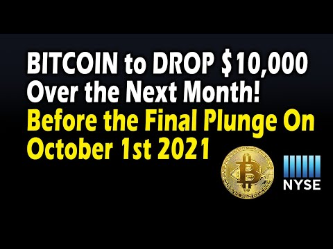 Bitcoin to drop $10,000 over the next month before the final crash on Oct 1st! BTC Price...
