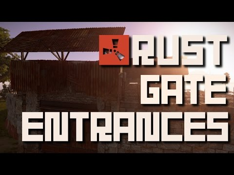 Rust Tips 'n Tricks | How to Build Better Gate Entrances!