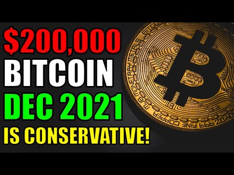 200k Bitcoin by December 2021 is CONSERVATIVE! 300k is MORE LIKELY! WATCH FULL VIDEO! Crypto...