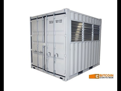 BitcoinContainer.com - 10ft Bitcoin mining Container