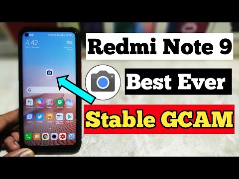 Redmi Note 9 Best GCAM | How To Install GCAM Redmi Note 9 | Best Stable GCAM