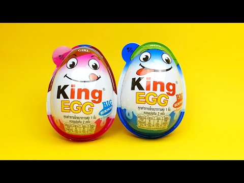 King Eggs Big Surprise - Toys and Candies