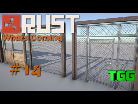 Rust What's Coming | Building Frames, Cell Doors, Chain Link, Double Doors #14 (Rust News...