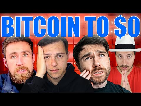 """Andrei Jikh """"Bitcoin is going to be WORTH $0..."""