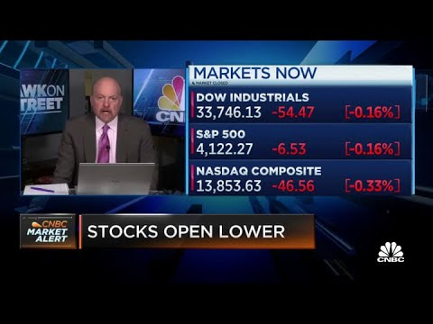 Jim Cramer: Equity volumes are falling because Robinhood buyers got blown out